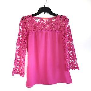Banjul Neon Pink Blouse